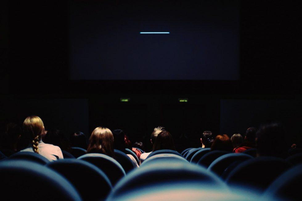 映画館の画面